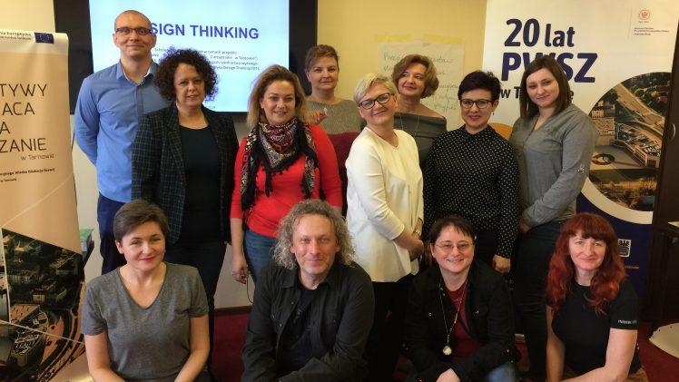 Innowacja i kreatywność – I część szkolenia Design Thinking dla nauczycieli akademickich już za nami !